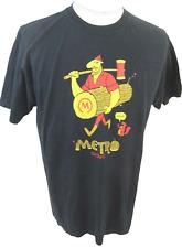 Metro Chicago T shirt sz L Lumberjack squirrel funny vintage cotton 22 pit 2 pit