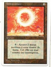 MRM FRENCH Anneau solaire ( Sol Ring) MTG magic 3-4th Edition