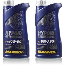 2L Original MANNOL Hypoid Getriebeöl 80W-90 API GL 4/GL 5 LS MN8106-1