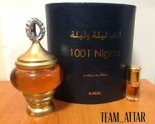 3ml 1001 Nights By Ajmal Arabian Attar Halal Perfume Oil Alf Lail O Laila