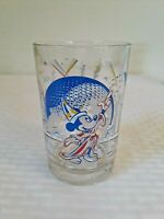Walt Disney World 25 Years Remember The Magic Mickey Epcot Glass Souvenir glass