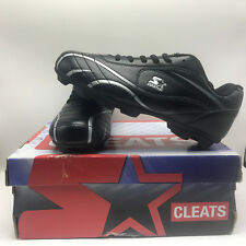 ALL PURPOSE STARTER CLEATS shoes box tags black white size 5 baseball soccer