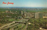 Postcard Fort Lee Bergen County New Jersey George Washington Bridge