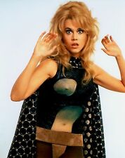 RARE STILL JANE FONDA SEE THROUGH TOP COLOR