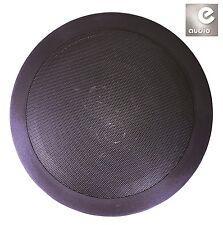 "e-audio Black 6.5"" 8 Ohms 120W Dual 2-Way Quality Ceiling Roof Wall Speaker"