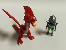 Playmobil Red Dragon Action  Figure 2009 Medieval Knights Dungeon