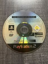 The Simpsons Hit And Run Platinum Ps2 Fr