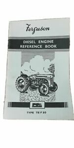 FERGUSON DIESEL TRACTOR INSTRUCTION /  REFERENCE BOOK ......... TE-F 20   MANUAL