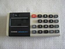Casio Calculator W/ Case & Instructions