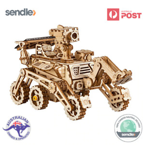 ROKR 3D Wooden Laser Cut Puzzle Harbinger Mars Rover Gift For Space Enthusiasts