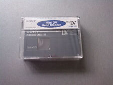 Mini DV Head Cleaner Sony DVM4CLD2 Cleaning Cassette