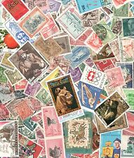 Worldwide Vintage Postage Stamp Collection (25 per lot) In Envelopes