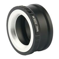 M42-EOS M Mount Adapter Ring for M42 Lens to Canon EF-M Mirrorless Camera