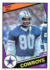 1984 TOPPS Tony Hill  COWBOYS STANFORD