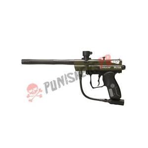 Spyder Victor Beginner Paintball Gun Marker - Olive Green