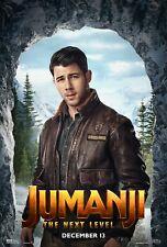 Jumanji: The Next Level Movie Poster (24x36) - Nick Jonas, Seaplane McDonough v3