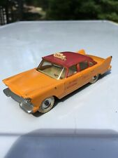 Dinky Toys 265G Plymouth Plaza Taxi 1960 Orange Made in England Meccano