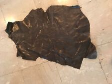 Real Leather,goat skin, full size,dark gray color