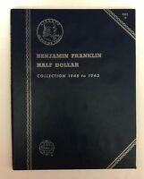 FRANKLIN HALF DOLLAR (1948-1963) #9032 COIN FOLDER BY WHITMAN-NEW OLD STOCK