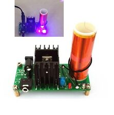 15W Mini Tesla Coil Plasma Speaker Set Electronic Field Music Project Parts UK
