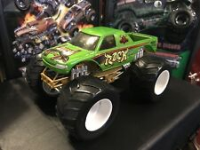 Hot Wheels Monster Jam Truck 1/24 Diecast WWF WWE The Rock Extremely Rare Htf