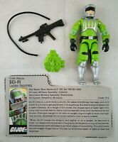 "SCI-FI  V1 G.I. Joe ARAH 1986 Vintage Retro Hasbro 3.75"" Figure COMPLETE w/ FC"
