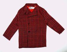 Vintage Mattel Ken Tagged Shirt Red/Black Plaid