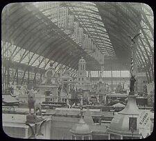 Glass Magic Lantern Slide WORLDS COLUMBIAN EXPOSITION NO6 1893 PHOTO CHICAGO