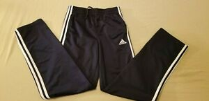 Boys adidas Pants L Large Navy Blue Athletic Gym Workout