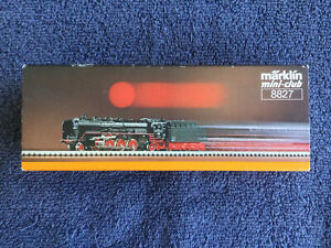 MARKLIN / MAERKLIN Z / Mini Club  # 8827 Class / BR 41 Steam Locomotive + Tender