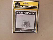 HO SCALE WOODLAND SCENICS D216 TOOL SHED KIT