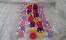 32 X ASSORTED PLASTIC CUP CAKE RING TOPPER  (NEW CULPITT)