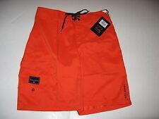 Billabong Big Boys 29/18 Orange Neon Rum Point Boardshorts Board Shorts Kids NWT