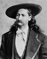 Old West Hero WILD BILL HICKOK Glossy 8x10 Photo Lawman Print Poster