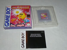 BOXED NINTENDO GAMEBOY VIDEO GAME MS PACMAN CARTRIDGE & BOX NAMCO