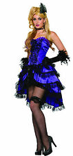 Adult Amethyst Saloon Can Can Girl Wild Western Costume Standard