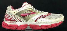 Women's BROOKS Glycerin 9 | US 9 EU 40.5 | Running Shoes | GRAY PINK ORANGE