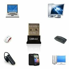 Mini Adapter Bluetooth USB Dongle CSR 4.0 EDR For Pc Laptop Tablet Windows. 011