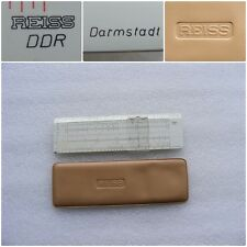 New listing Vintage Germany Slide Rule Reiss Darmstadt Ddr - Duplex