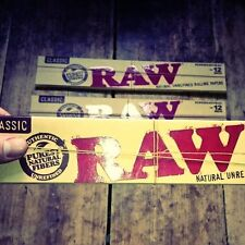 RAW Supernatural 12″ rolling papers (x3 Pack) UK Seller