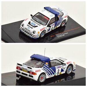 1/43 Ixo Ford RS2000 N°2 Blomqvist/Berglund Rallye RAC 1986 Livraison Domicile
