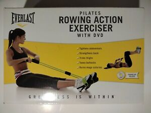 💥Everlast Pilates Rowing Action Exerciser💥Abs Thigh Butt Workout Machine💥