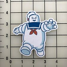 "Stay Puft Ghost Busters 4"" Tall Color Vinyl Decal Sticker BOGO"