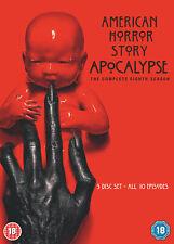 American Horror Story Season 8: Apocalypse (DVD) Emma Roberts, Evan Peters