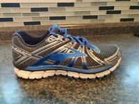 Brooks Adrenaline GTS 17 Men's Running Shoes Blue/Silver ~ Size 11 D