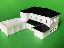 2 Story Luxury House Mansion/building 3 Car Garage Z Scale 3D Printed Made USA