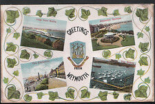 Dorset Postcard - Greetings From Weymouth     MB391