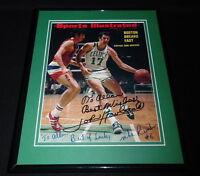 John Havlicek Mike Riordan Signed Framed 1972 Sports Illustrated Magazine Cover