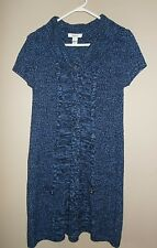 Style&co.Brand. NEW WITH TAGS. Sheath Chambray Sweater Dress. Ladies' Size Small