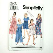 Simplicity Pattern · 8879 · Size AA XS S M · Misses Jumpsuit & Dress Jumper